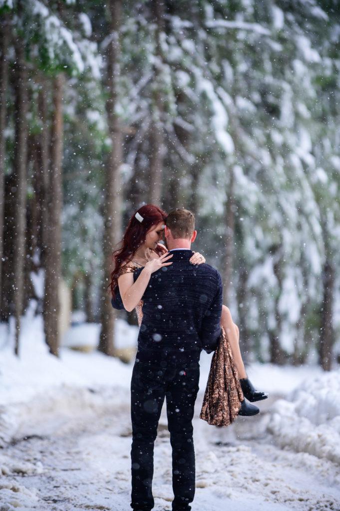 Alex & Kris. Winter mood.