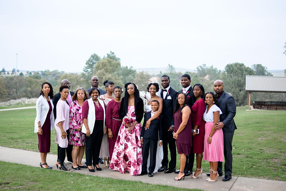 Air Force wedding. Beale Air Force Base.