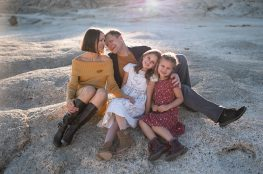 Family  session in Fall colors