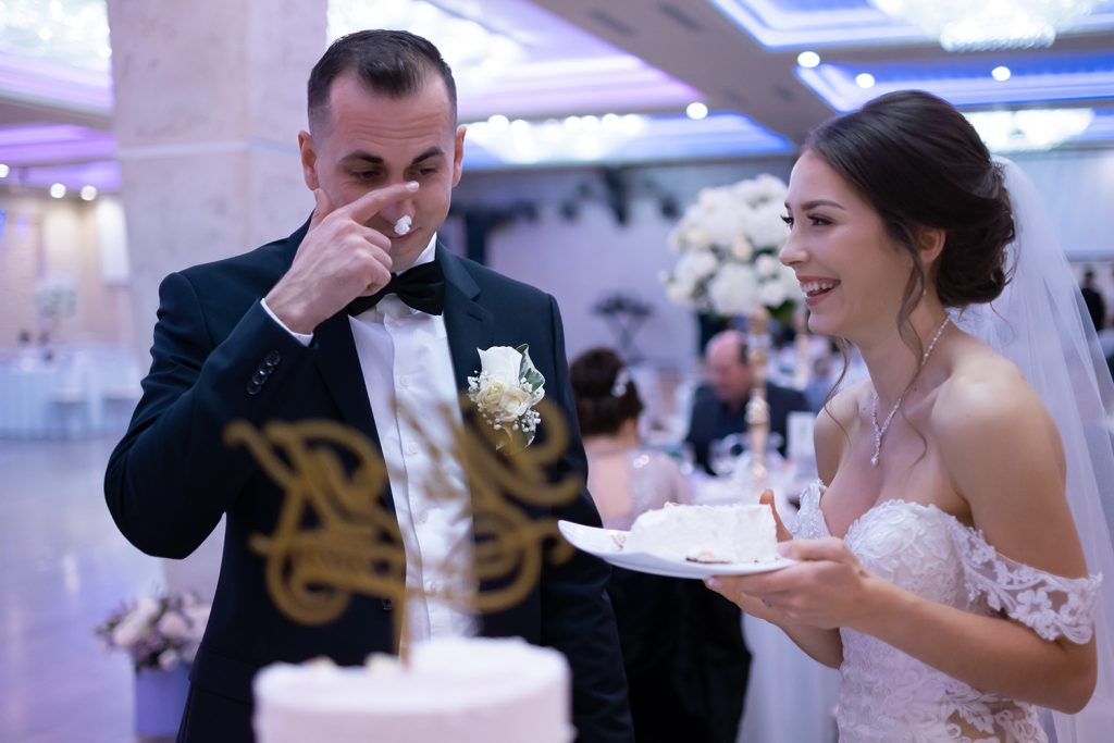 Michel and Karina.